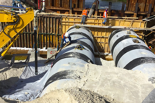 Drainage-Headwall-Construction