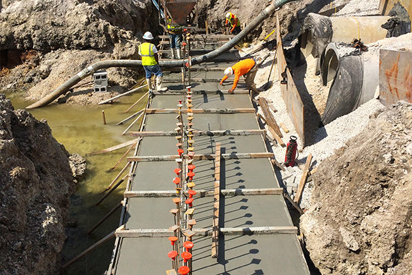 Concrete-Headwall-Footer-Forming
